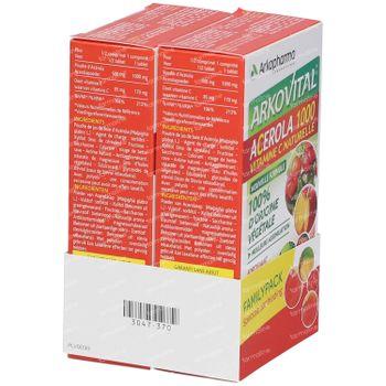 Acerola 1000 Familypack Promo 60 tabletten