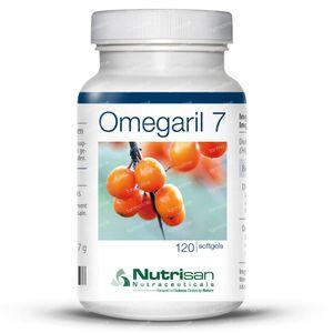 Nutrisan Omegaril 7 120 stuks Softgels