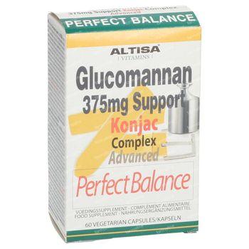 Altisa Glucomannan 375 mg Support Perfect Balance 60 capsules