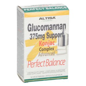 Altisa Glucomanan Complete Support 375mg 30 capsules