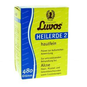 Luvos Heilaarde 2 Huidfijn 480 g