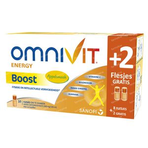 Omnivit Boost + 2 Vials Free 10x15 ml flaconi