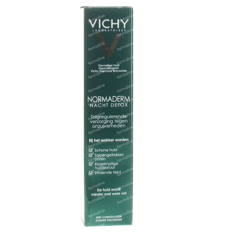 Vichy Normaderm Detox Night Cream 40 ml order online.