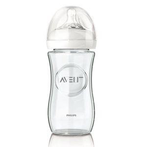Avent Natural Feeding-Bottle Glass 240 Ml 1 item