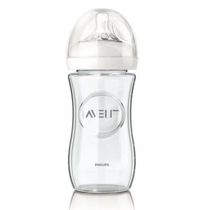 Avent Natural Zuigfles Glas 240 Ml 1 stuk