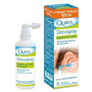 Quies Docuspray Spray d'Oreille Sans Gaz Propulseur 100 ml