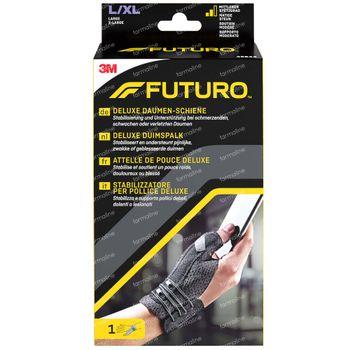 FUTURO™ Deluxe Attelle de Pouce 45844 Noire Large/Extra Large 1 pièce