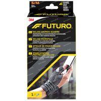 FUTURO™ Deluxe Attelle de Pouce 45843 Noire Small/Medium 1 st