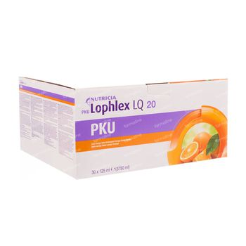 Milupa PKU  Lophlex LQ 20 Juicy Sinaas 3750 ml