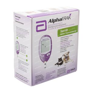 Alphatrak Start-Kit Measuring Blood Glucose 1 stuk