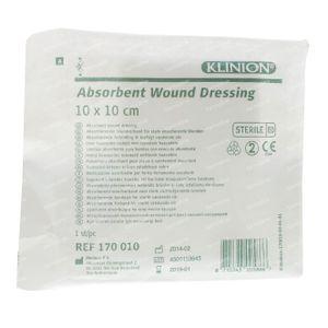 Klinion Absorberend Kompres 1 St