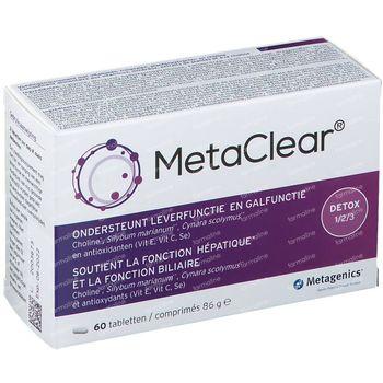 MetaClear 60 tabletten