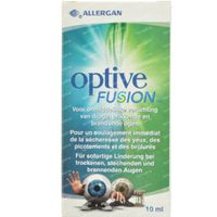 Optive Fusion Steriele Oplossing Flacon 10 ml