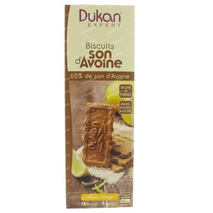 Dukan Koekjes met Citroen en Haverzemelen 65% 18 St Zakjes