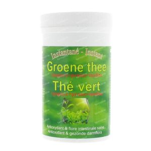 Green Tea + Inuline + Papaya 200 g powder
