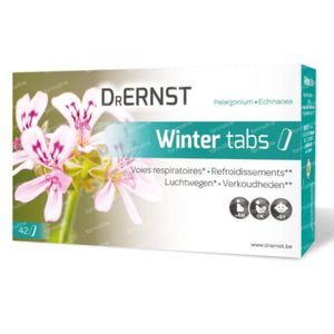 Dr Ernst Wintertabs 42 comprimés