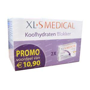 XLS Medical Koolhydraten Blokker Duopack 120 tabletten