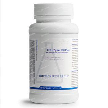 Biotics CoQ-Zyme 100 Plus 60 capsules