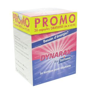 dynarax promo 30 tablettes gratuites 90 capsules commander. Black Bedroom Furniture Sets. Home Design Ideas