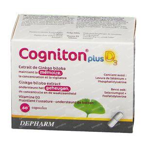 Cogniton Plus D3 60 capsules