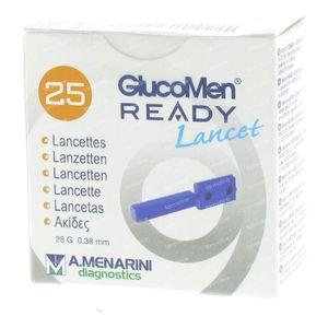 Glucomen Ready 43977 Lancets 25 Stuks