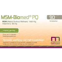 MSM Biomed PQ 90  tabletten