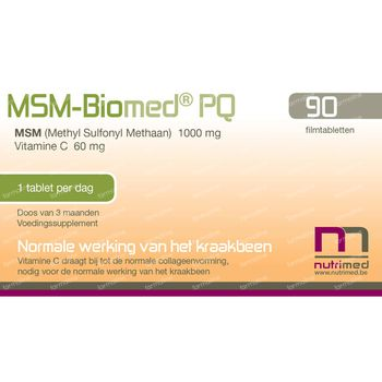 MSM Biomed PQ 90 tabletten