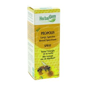 Herbalgem Propolis Large Spectrum Bio 15 ml spray