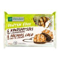 Damhert Glutenfreie Kokosmakronen Schokolade 250 g