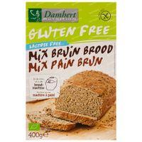 Damhert Glutenvrije Mix Bruin Brood 400 g
