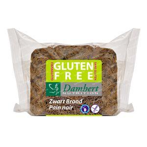 Damhert Pain Noir Sans Gluten Coupé 300 g