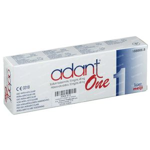 Adant One Seringue Préremplie Stérile Jetable 4,90 ml