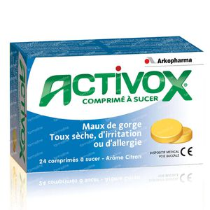 Activox Sore Throat & Dry Cough 24 lozenges