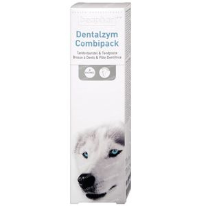 Beaphar Pro Dentalzym Combipack Paste & Brush 1 stuk