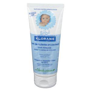 Klorane Baby Cleansing Milk Moisturizing Vegetable 200 ml