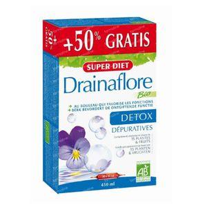 Super Diet Drainaflore Bio 30 St ampolle