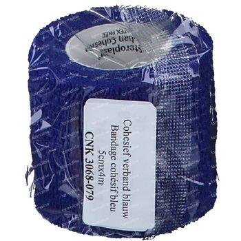 Covarmed Pensement Cohésif  5cm x 4,5m Bleu 1609a 1 st