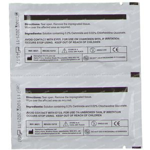 Covarmed Alcohol Free Swab 8021a 100 pieces