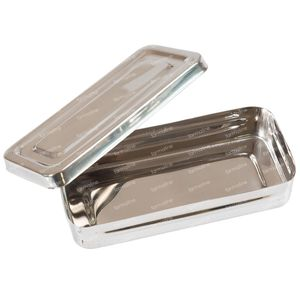 Covarmed Instruments Box Inox 18 x 8 x 4Cm 1 item