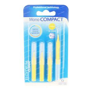 Elgyclinic Interdentale Brush Kegelvormig Geel 2,5-2,2mm 4 stuks
