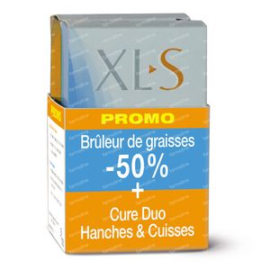 XLS Duo Heupen & Dijen + Vetverbrander -50% PROMO 90 St Tabletten