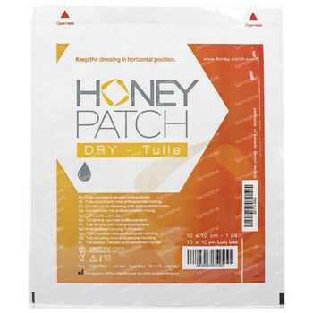 Honeypatch Dry Miel de Séchage 10x10cm 1 st