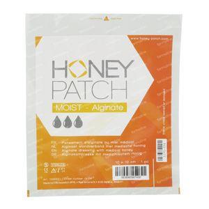 Honeypatch Moist Dressing Alg. Sterile 10x10cm 1 item