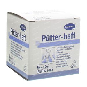 Hartmann Putter-Haft 6cm x 5m 931840 1 stuk