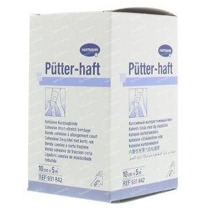 Hartmann Putter-Haft 10cm x 10m 931842 1 stuk