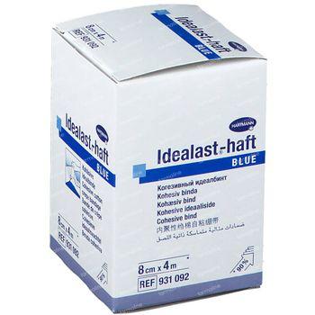 Hartmann Idealast-haft Blauw 8cm x 4m 931092 1 st