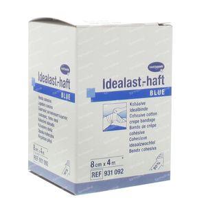 Hartmann Idealast-haft Blauw 8cm x 4m 931092 1 stuk