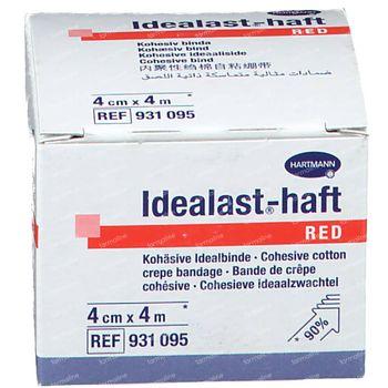Hartmann Idealast-haft Rouge 4cm x 4m 931095 1 pièce