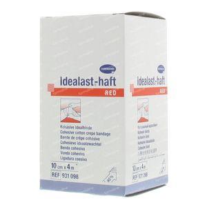 Hartmann Idealast-haft Rood 10cm x 4m 931095 1 stuk