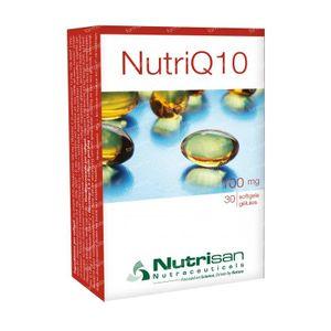 Nutrisan NutriQ10 100mg 30 capsules